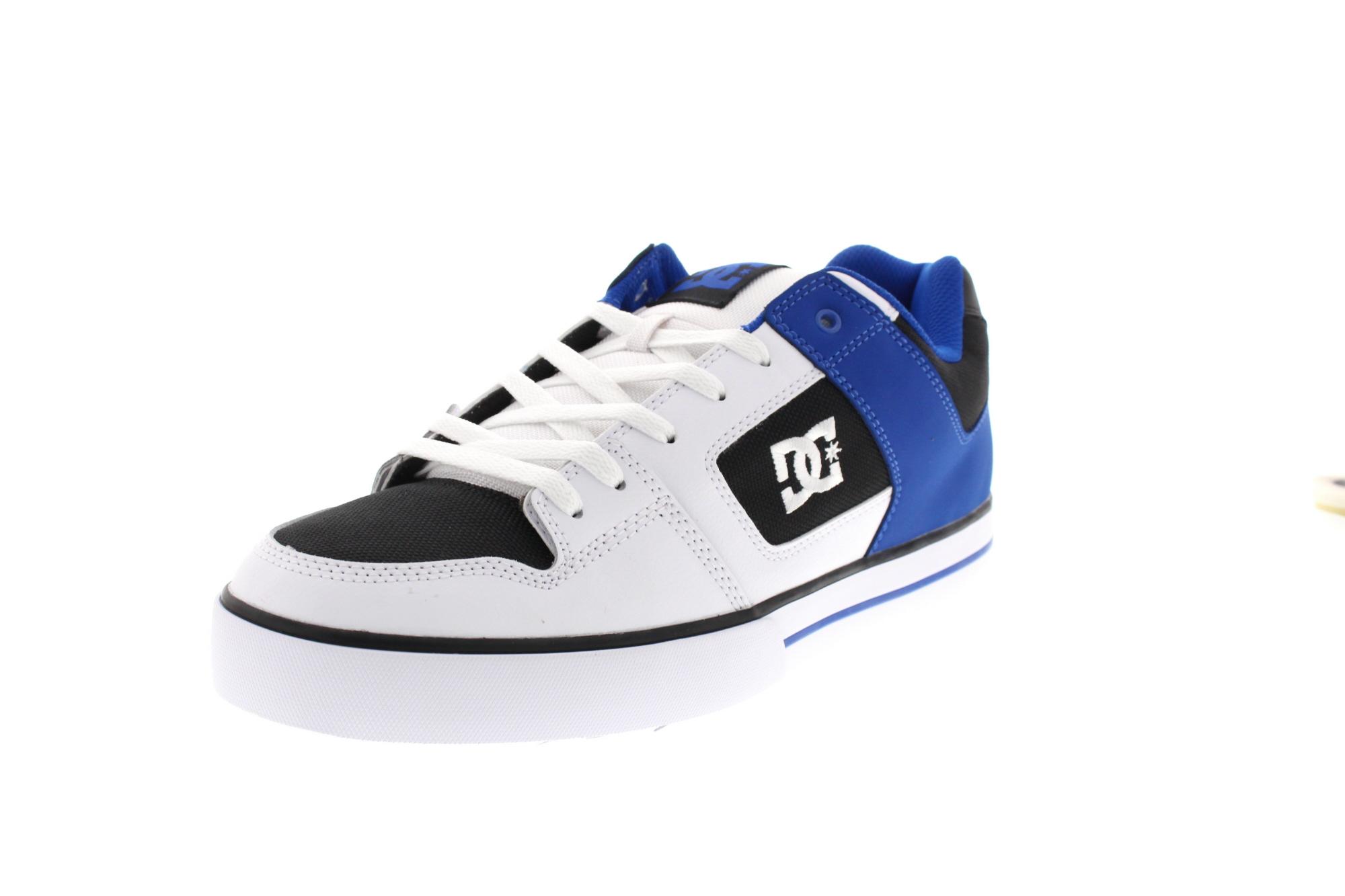 DC Schuhe in Übergrößen - PURE 300660 white black blue