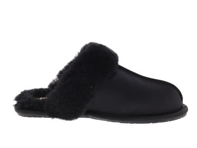 UGG Hausschuhe - SCUFFETTE II SATIN 1096460 - black preview 4