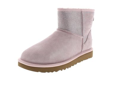 UGG Damen Booties CLASSIC MINI SPARKLE - seashell pink