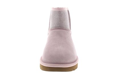 UGG Damen Booties CLASSIC MINI SPARKLE - seashell pink preview 3