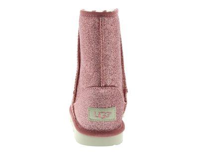 UGG - Kinderschuhe CLASSIC SHORT II GLITTER BOOT pink preview 5