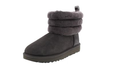 UGG Damenschuhe  Booties FLUFF MINI QUILTED  charcoal