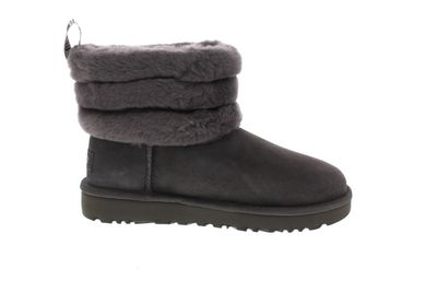 UGG Damenschuhe  Booties FLUFF MINI QUILTED  charcoal preview 4