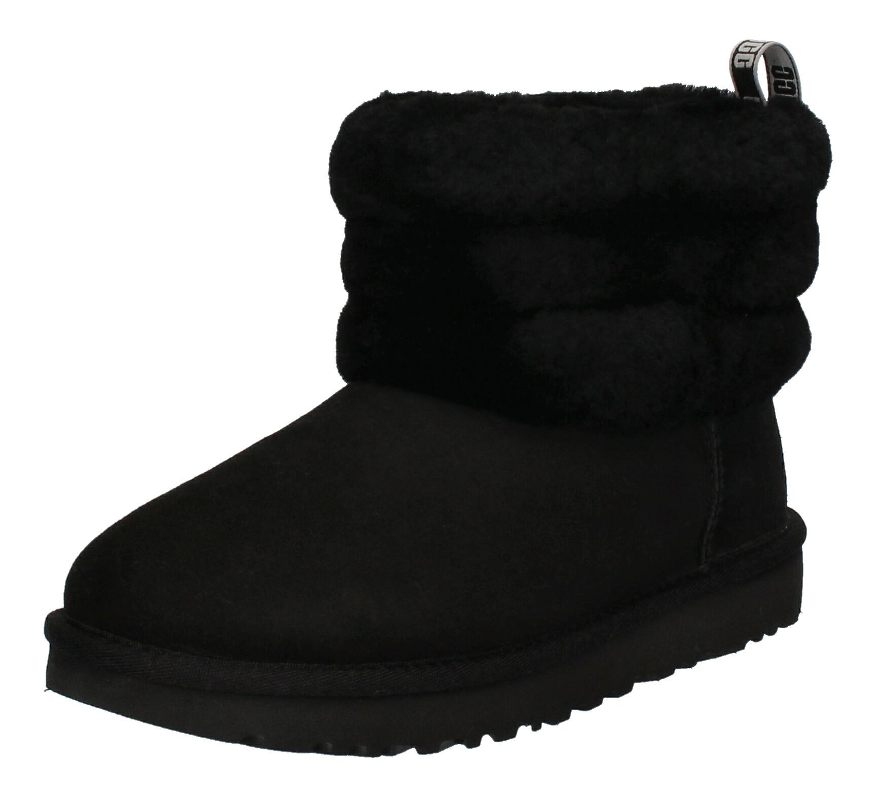 UGG Damenschuhe  Booties FLUFF MINI QUILTED - black_1