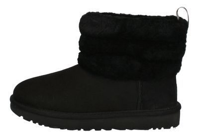 UGG Damenschuhe  Booties FLUFF MINI QUILTED - black preview 2