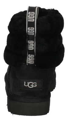 UGG Damenschuhe  Booties FLUFF MINI QUILTED - black preview 5