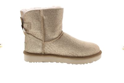 UGG Damenschuhe - Booties MINI BAILEY BOW SPARKLE gold preview 4