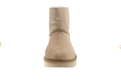 UGG Damenschuhe - Booties MINI BAILEY BOW SPARKLE gold preview 3