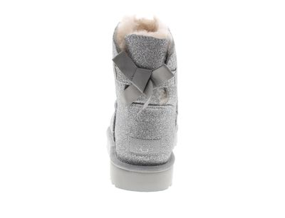 UGG Damenschuhe Booties MINI BAILEY BOW SPARKLE silver preview 5