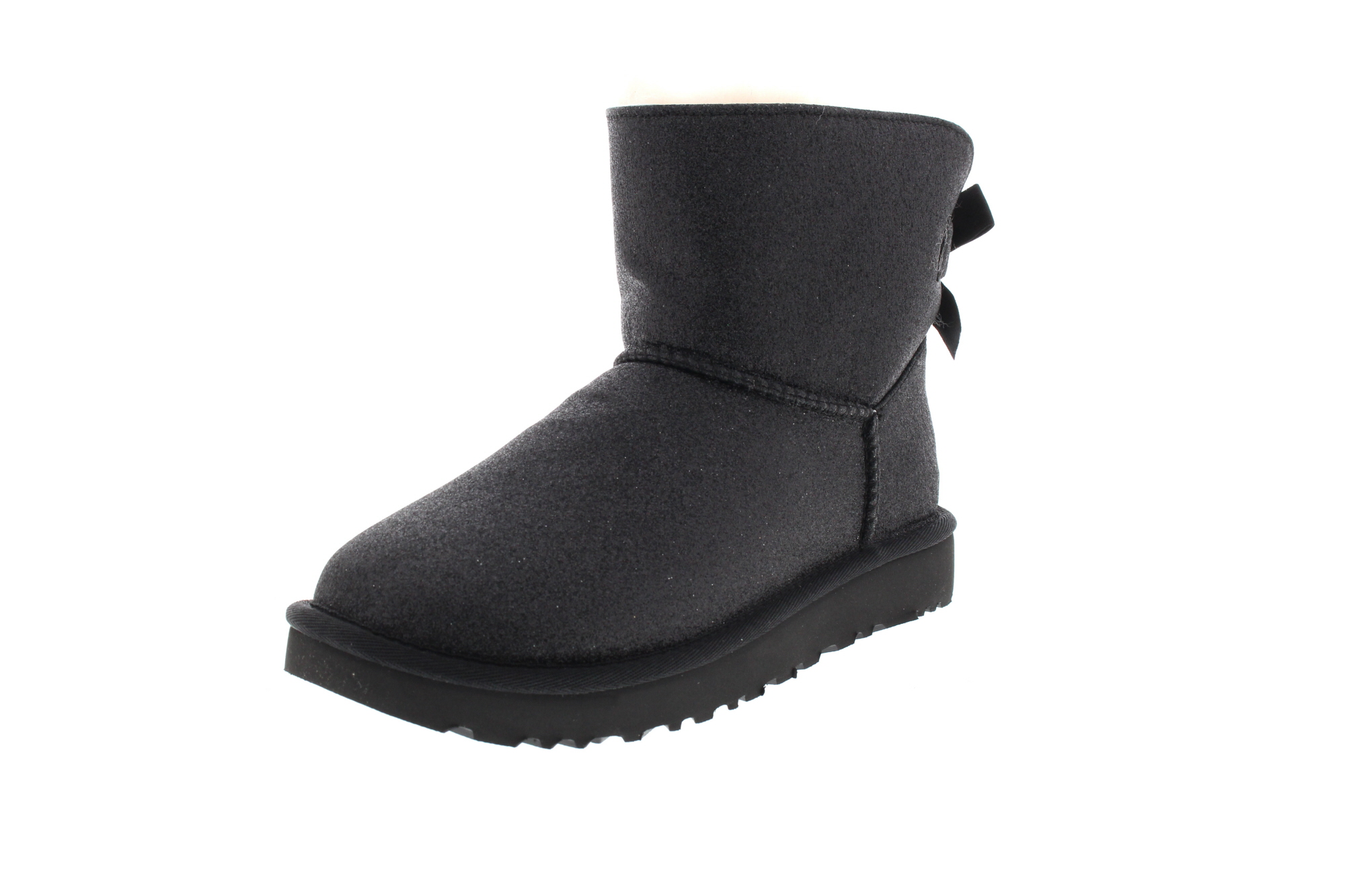 UGG Damenschuhe Booties MINI BAILEY BOW SPARKLE black0-6684