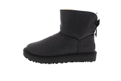 UGG Damenschuhe Booties MINI BAILEY BOW SPARKLE black preview 2
