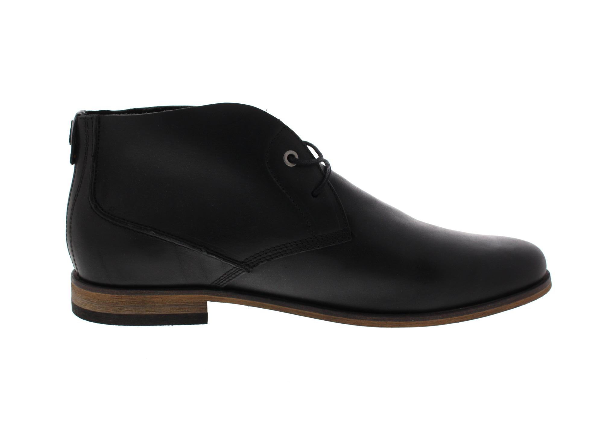 HAGHE by HUB Herrenschuhe Boots SPURS black