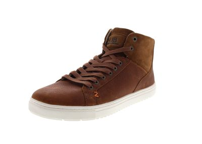 HUB FOOTWEAR Sneakers - MURRAYFIELD L30 MERLINS cognac