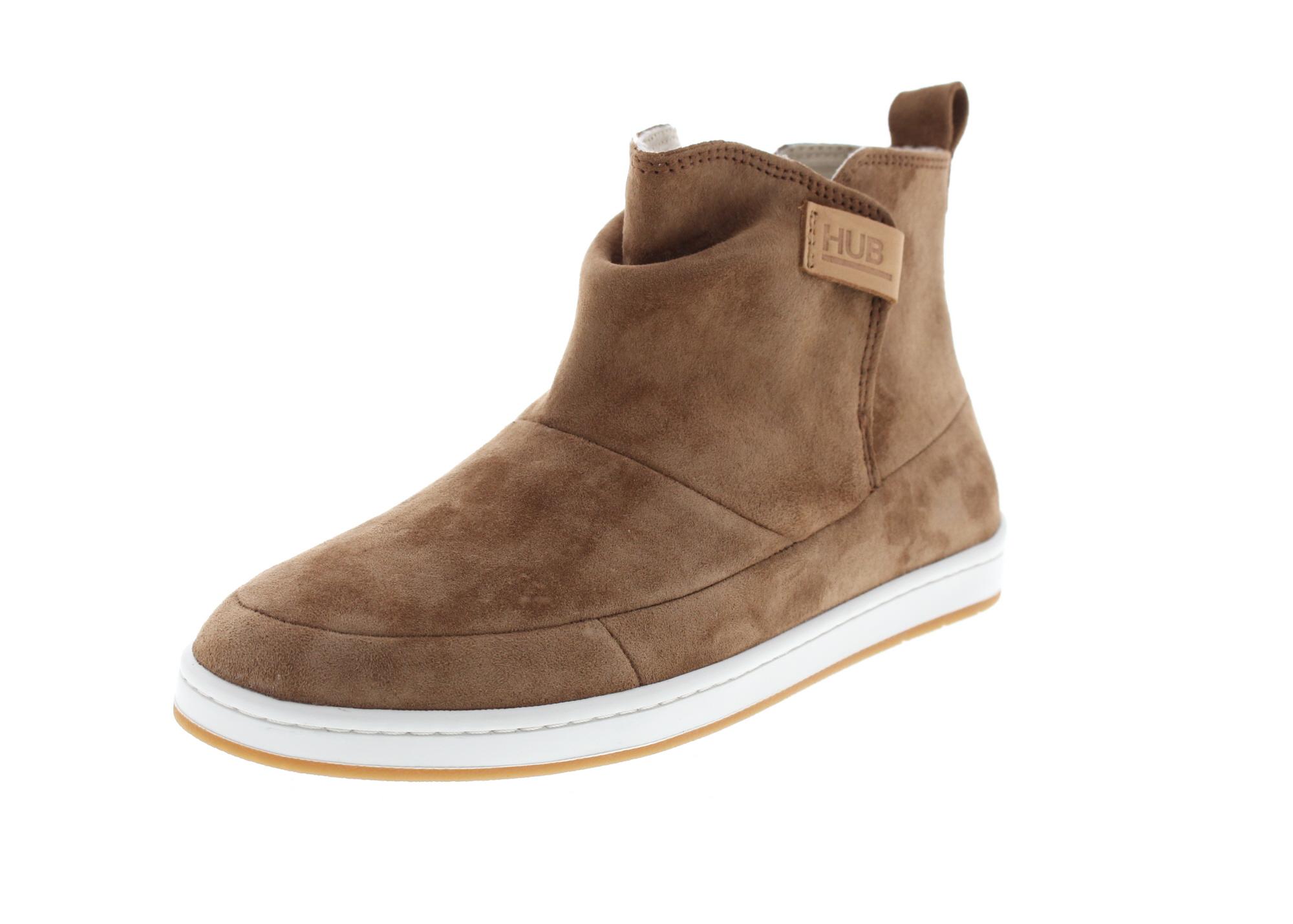 HUB FOOTWEAR Damenschuhe - Booties SERVE N30 - brown0-6730