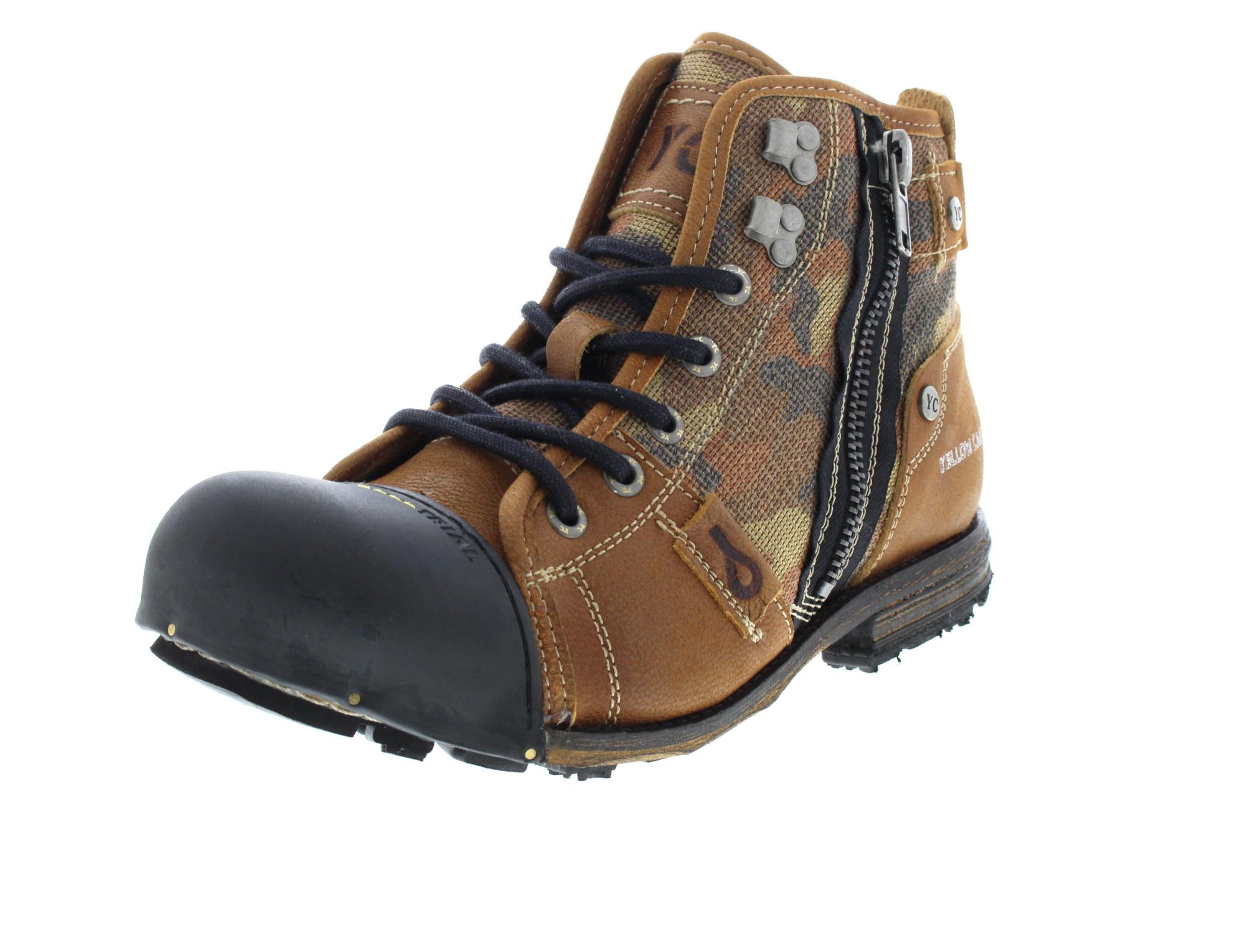 YELLOW CAB Herrenschuhe - Boots INDUSTRIAL 15458 - tan0-6734