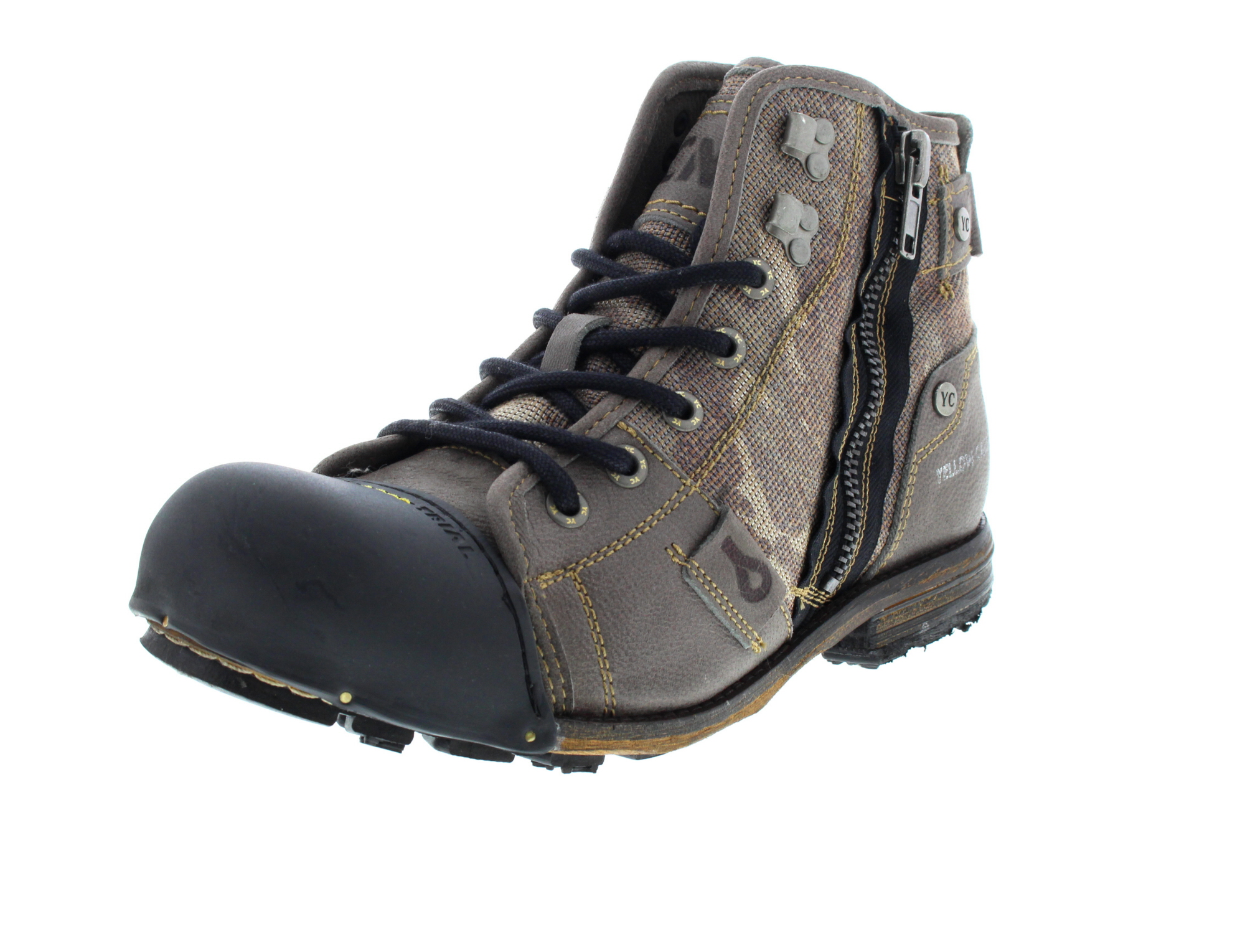 YELLOW CAB Herrenschuhe - Boots INDUSTRIAL 15458 - grey0-6735