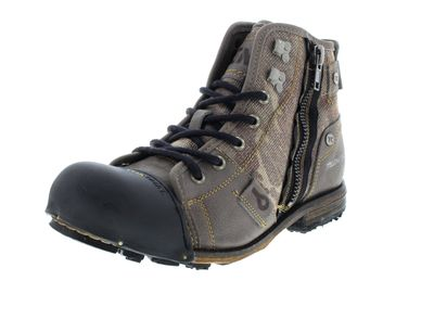 YELLOW CAB Herrenschuhe - Boots INDUSTRIAL 15458 - grey