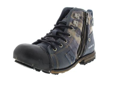 YELLOW CAB Herrenschuhe - Boots INDUSTRIAL 15458 - blue