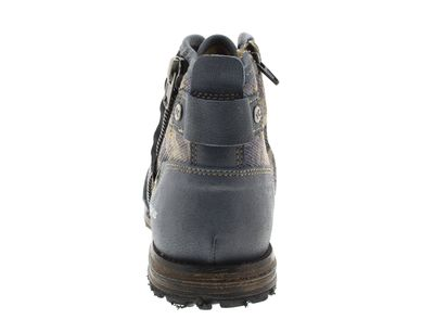 YELLOW CAB Herrenschuhe - Boots INDUSTRIAL 15458 - blue preview 5