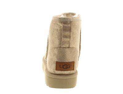UGG Damen Booties CLASSIC MINI II STARDUST metallic gold preview 5