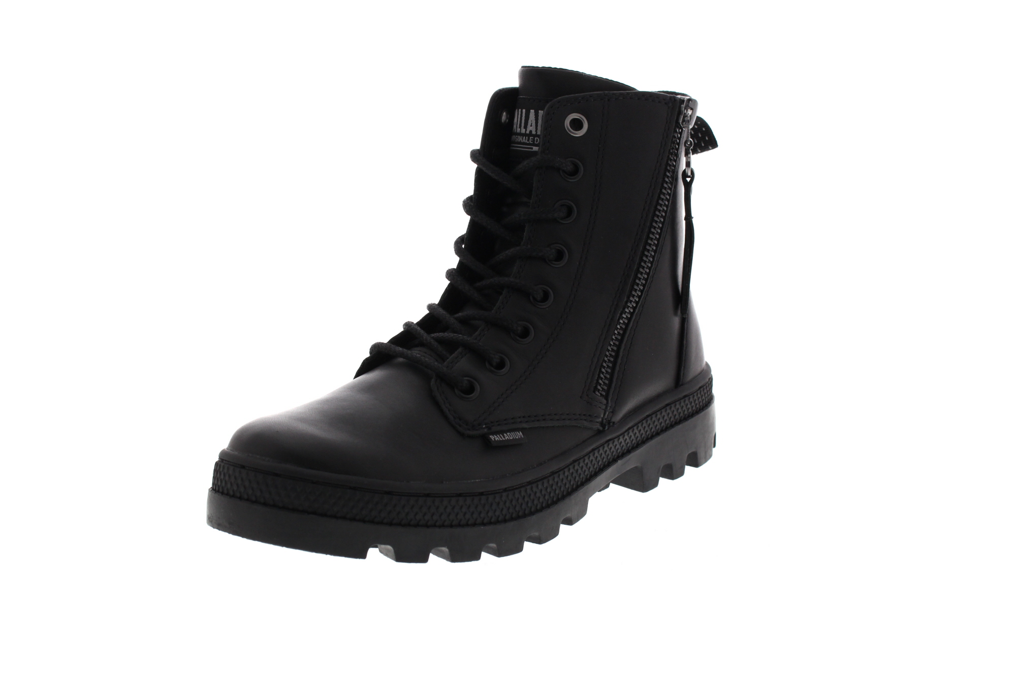 PALLADIUM Damen - Boots PALLABOSSE HI ZIP LTH - black 0-6798