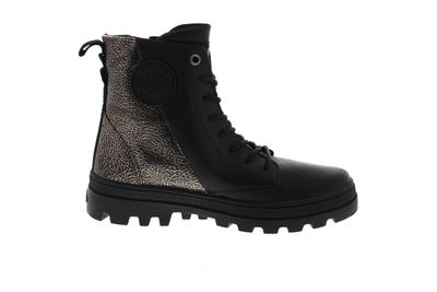 PALLADIUM Damen - PALLABOSSE HI ZIP LTH - antic gold preview 4