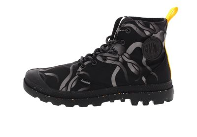 PALLADIUM - PAMPA HI NIGHT SQUID WATERPROOF - jet black preview 2