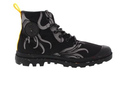 PALLADIUM - PAMPA HI NIGHT SQUID WATERPROOF - jet black preview 4