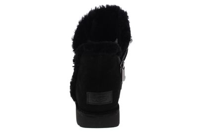 UGG Damenschuhe - Stiefelette LUXE SPILL SEAM MINI nero preview 5