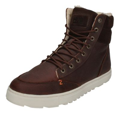 HUB FOOTWEAR Herren - Boots DUBLIN MERLINS - dark brown