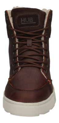 HUB FOOTWEAR Herren - Boots DUBLIN MERLINS - dark brown preview 3