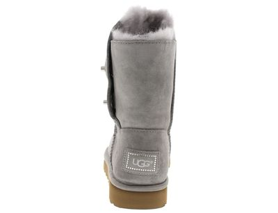 UGG Damenschuhe - Stiefel SHORT TURNLOCK BLING - seal preview 5