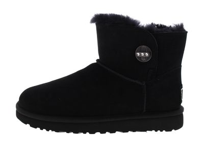 UGG Damenschuhe - Stiefel MINI TURNLOCK BLING - black preview 2
