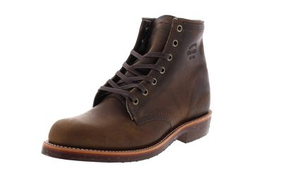 "CHIPPEWA Boots - 6"" SERVICE BOOT 1901M29 D - crazy horse preview 1"