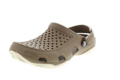 CROCS Herrenschuhe - SWIFTWATER DECK CLOG khaki stucco