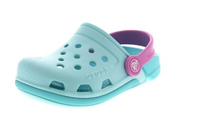 CROCS Kinderschuhe - Clogs ELECTRO III - ice blue pool
