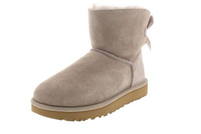 UGG Damenschuhe - Booties MINI BAILEY BOW II - oyster