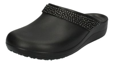 CROCS Damenschuhe - Clogs SLOANE DIAMANTE CLOG - black