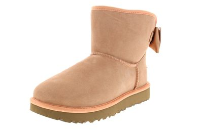 UGG Damenschuhe - Booties SATIN BOW MINI - suntan