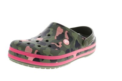 CROCS CROCBAND Seasonal Graphic Clog - army green melon