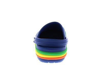 CROCS Kinderschuhe CROCBAND RAINBOW BAND CLOG blue jean preview 5