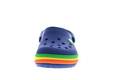 CROCS Kinderschuhe CROCBAND RAINBOW BAND CLOG blue jean preview 3