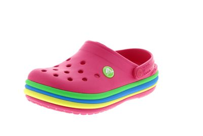 CROCS Kinder - CROCBAND RAINBOW BAND CLOG paradise pink preview 1