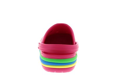 CROCS Kinder - CROCBAND RAINBOW BAND CLOG paradise pink preview 5