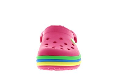 CROCS Kinder - CROCBAND RAINBOW BAND CLOG paradise pink preview 3