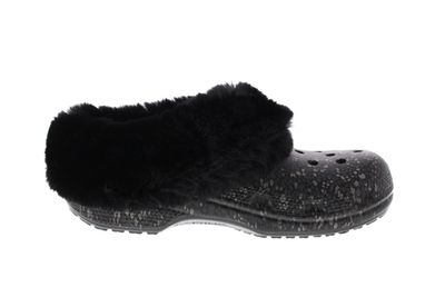 CROCS - CLASSIC MAMMOTH LUXE RADIANT Clog - black  preview 4