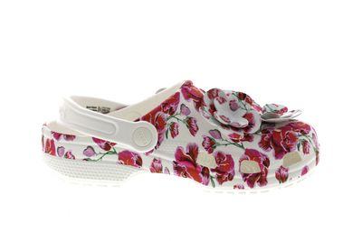 CROCS - CLASSIC TIMELESS CLASH ROSES CLOG floral white preview 4