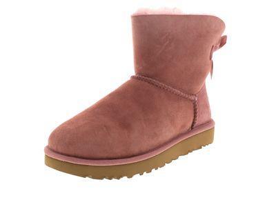 UGG Damenschuhe - Booties MINI BAILEY BOW II pink dawn