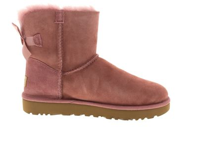 UGG Damenschuhe - Booties MINI BAILEY BOW II pink dawn preview 4