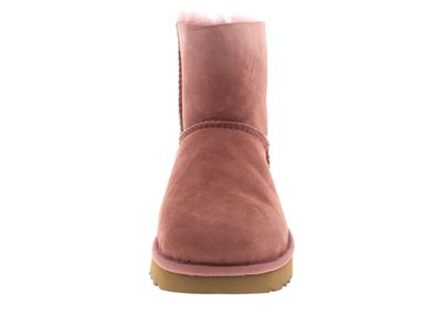 UGG Damenschuhe - Booties MINI BAILEY BOW II pink dawn preview 3